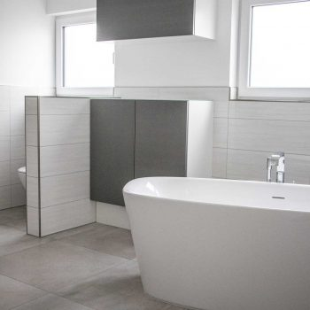 Betonoptik Fliesen im Badezimmer - Fliesen Vlady | Fliesenleger in ...